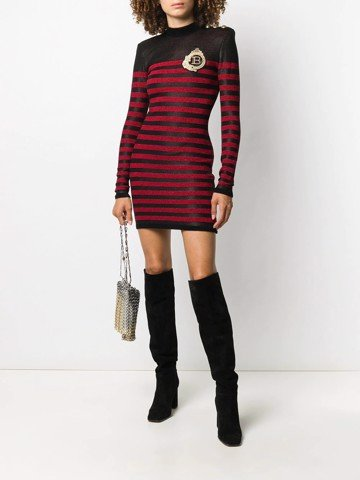 Short Ls Striped Dress