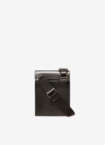 ALLI Leather Cross-Body Bag In Black