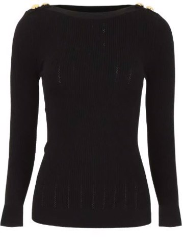 LS BOAT NECK SWEATER