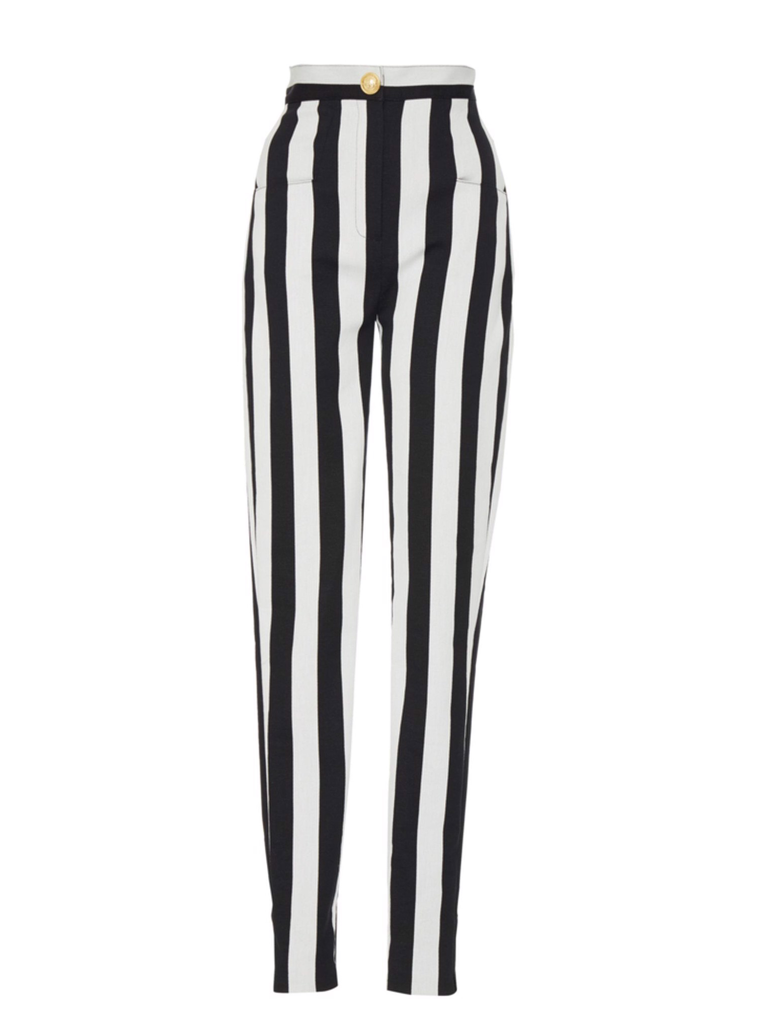 SLIM STRIPED PANTS