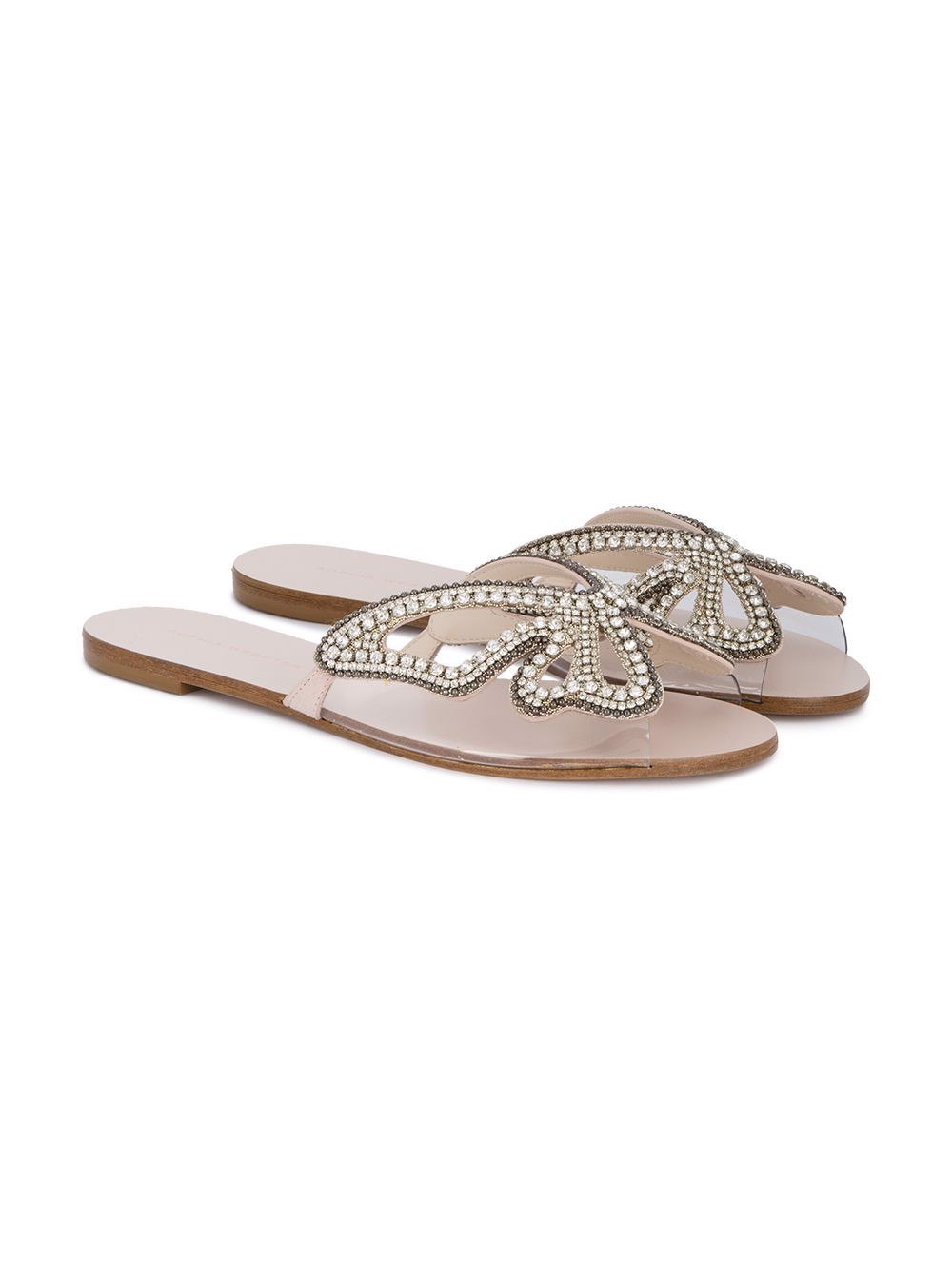 MADAME BUTTERFLY CRYSTAL SLIDE (SPF17035) - 5500