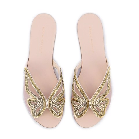 Madame Butterfly Crystal Slide