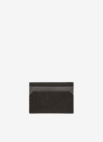 BHAR Leather Card Holder In Black