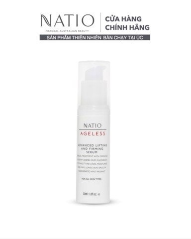 Natio Serum Dưỡng Và Làm Săn Chắc Da Ageless Advanced Lifting and Firming Serum 30ml