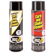 BG Carb and Choke Cleaner (PN 411) & BG Hi-Delivery Carb & Choke Cleaner (PN 412)