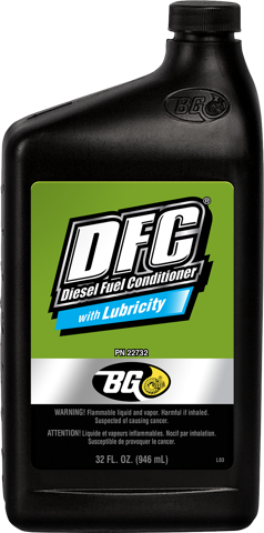 BG DFC® with Lubricity Diesel Fuel Conditioner