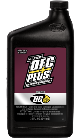 BG DFC Plus® Diesel Fuel Conditioner
