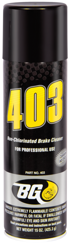 BG 403 Non-Chlorinated Brake Cleaner