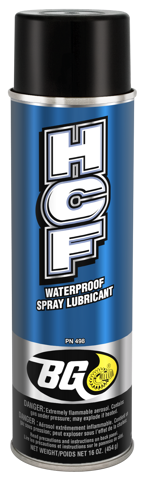 BG HCF Waterproof Spray Lubricant