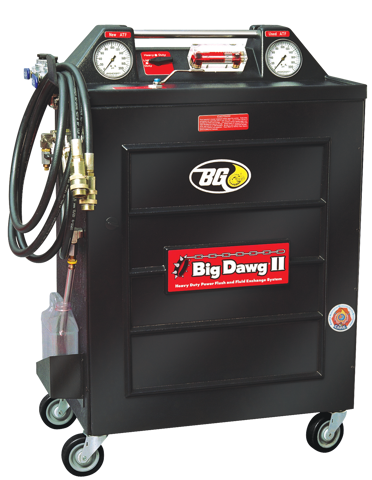 BG Big Dawg® IIPower Flush and Fluid Exchange System