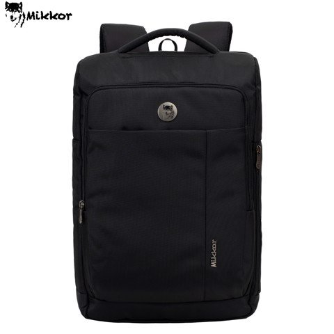 Balo Laptop Mikkor The Ace Black