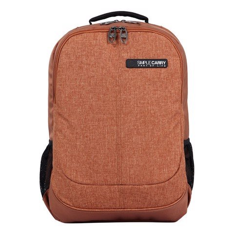 Balo laptop Simplecarry Noah Brown
