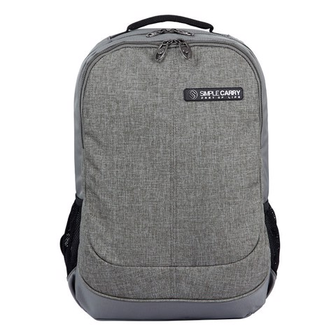 Balo laptop Simplecarry Noah Grey
