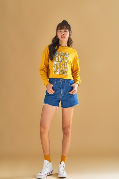 Áo Sweater Nữ Stay Together Cánh Đồng WSW 2005 -