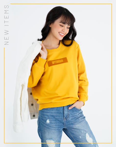 Áo Sweater In Optimism OSM 1003 -