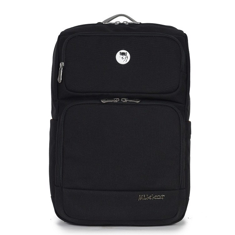 Balo laptop mikkor the ives backpack 15.6 inch màu đen