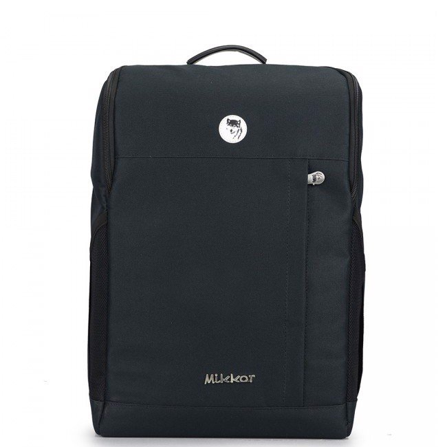 Balo laptop mikkor the lewis backpack 15.6 inch màu đen