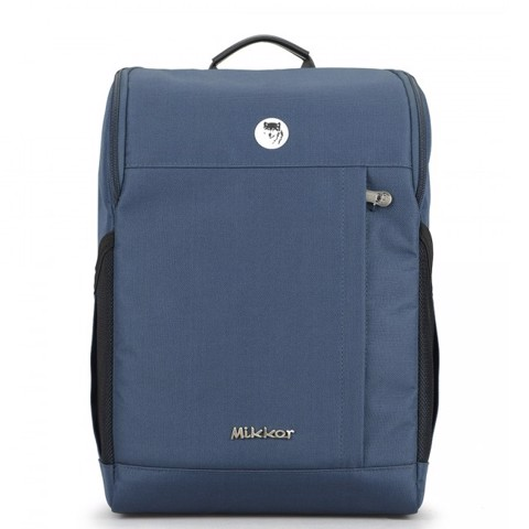 Balo laptop Mikkor the lewis backpack 16.5 inch màu xanh