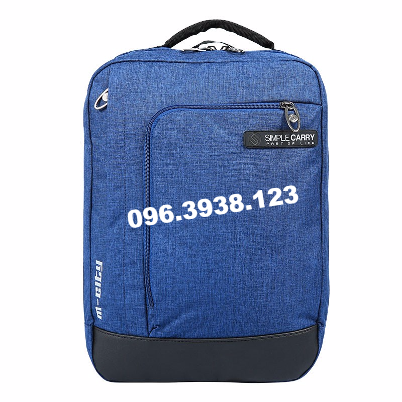 Balo laptop 13 inch Simplecarry M City Navy