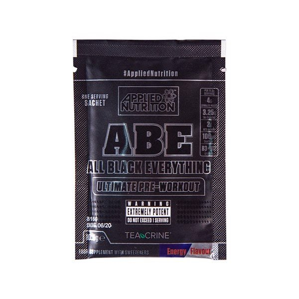 GIFT Sample Abe Pre Workout Energy Flavor 10.5g