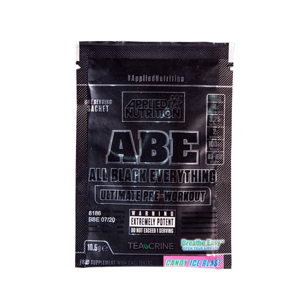 GIFT Sample Abe Pre Workout Candy Ice Blast 10.5g
