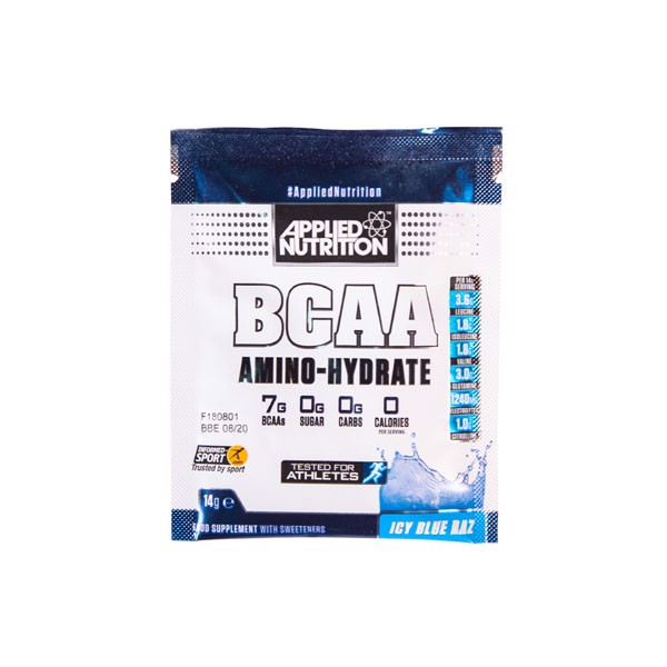Mẫu thử Applied Nutrition - Bcaa Amino Hydrate 14g - 2 Mùi