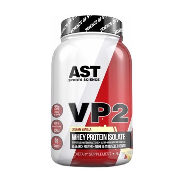 AST VP2 Whey Protein Isolate 2lbs (937g)