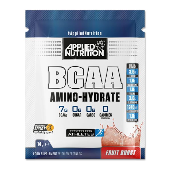 GIFT Sample Applied Nutrition - Bcaa Amino Hydrate Fruit Burst 14g