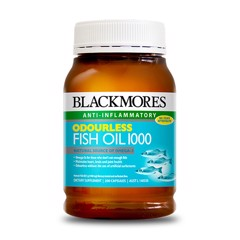lackmores Odourless Fish Oil 1000mg