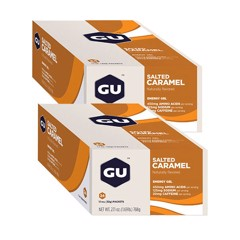GU Energy Gel Caramel 2 box