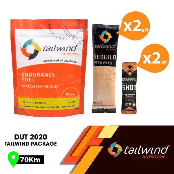 Combo TAILWIND PACKAGE 70km
