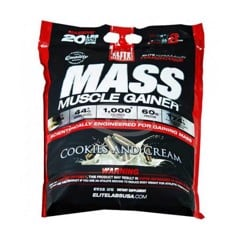 Elite Labs USA Mass Muscle Gainer Cookies and Cream 9.09kg