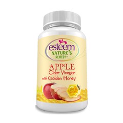 vien uong giam can giam tao esteem apple cider vinegar 60 vien