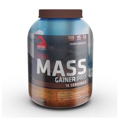 Sữa Tăng Cân Limitless Supplements Excel Mass Gainer Pro 2.27kg