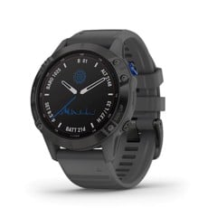 Garmin Fenix 6 Pro Solar Black w/Slate Gray Band