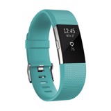 fitbit charge2 teal silver small