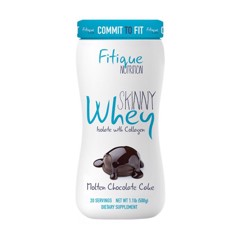 Skinny Whey Isolate With Collagen Molten Chocolate