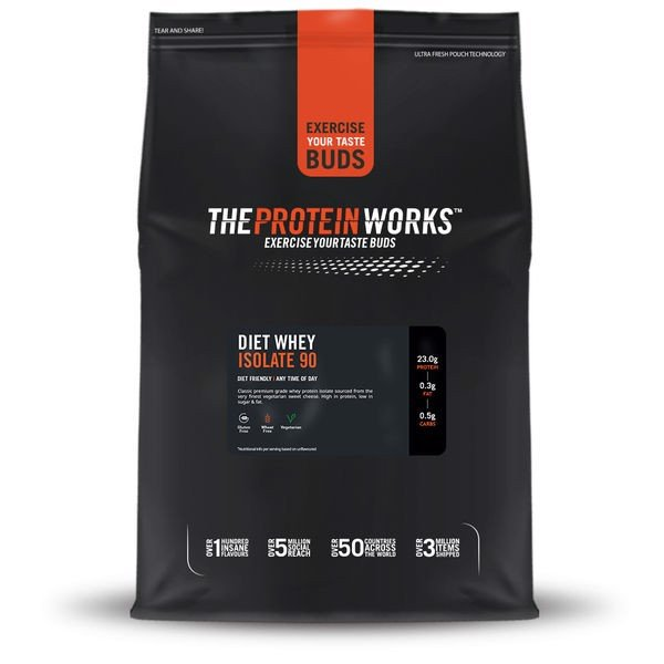 Sữa Tăng Cơ The Protein Works Diet Whey Isolate 90 6 mùi - 1kg