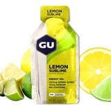 gu energy gel single   lemon sublime
