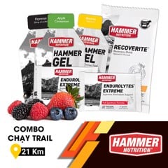 Combo Chạy Trail 21Km Hammer Nutrition