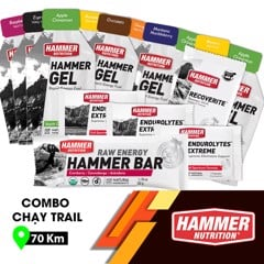 Combo Chạy Trail 70Km Hammer Nutrition