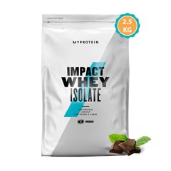 MyProtein Impact Whey Isolate 2.5kg chocolate mint