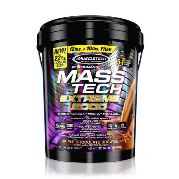 MuscleTech Mass Tech Extreme 2000 22lbs (10kg) - Ultimate Sup