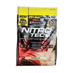 Nitro Tech Performance Series Vanilla 4.54kg
