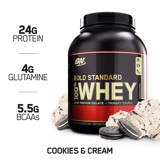 Gold Standard 100% Whey Cookies and Cream 5lbs