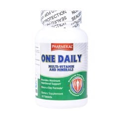 Pharmekal One Daily Multivitamin And Mineral 60 viên