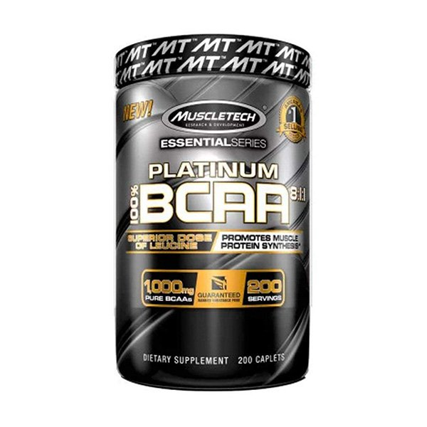 MuscleTech PLATINUM BCAA 8:1:1 promotes muscle protein synthesis - Ultimate Sup