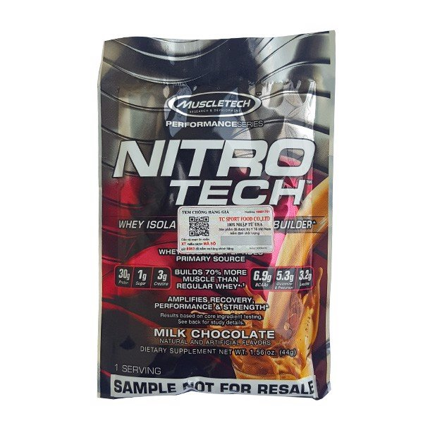 Sample Nitrotech performance