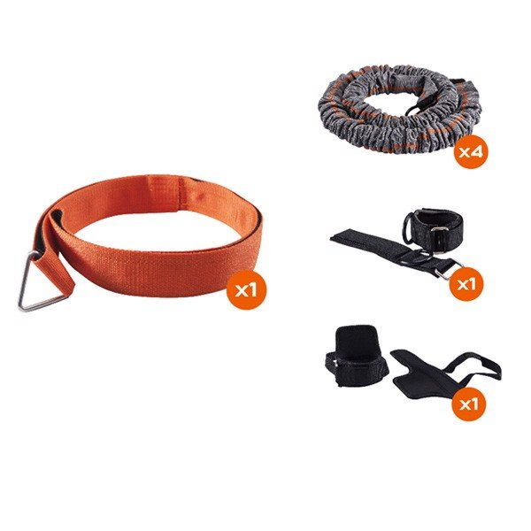 Bộ Tập GYM Training Kit 4 món Python Striker Training System