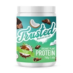 Trusted Nutrition Organic Plant Protein 740g Chocolate coconut